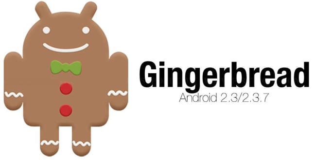 اندروید 2.3 gingerbread