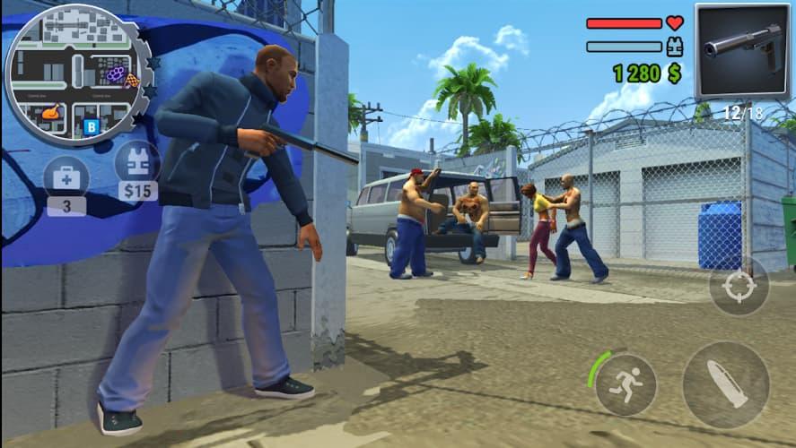 بازی Gangs Town Story