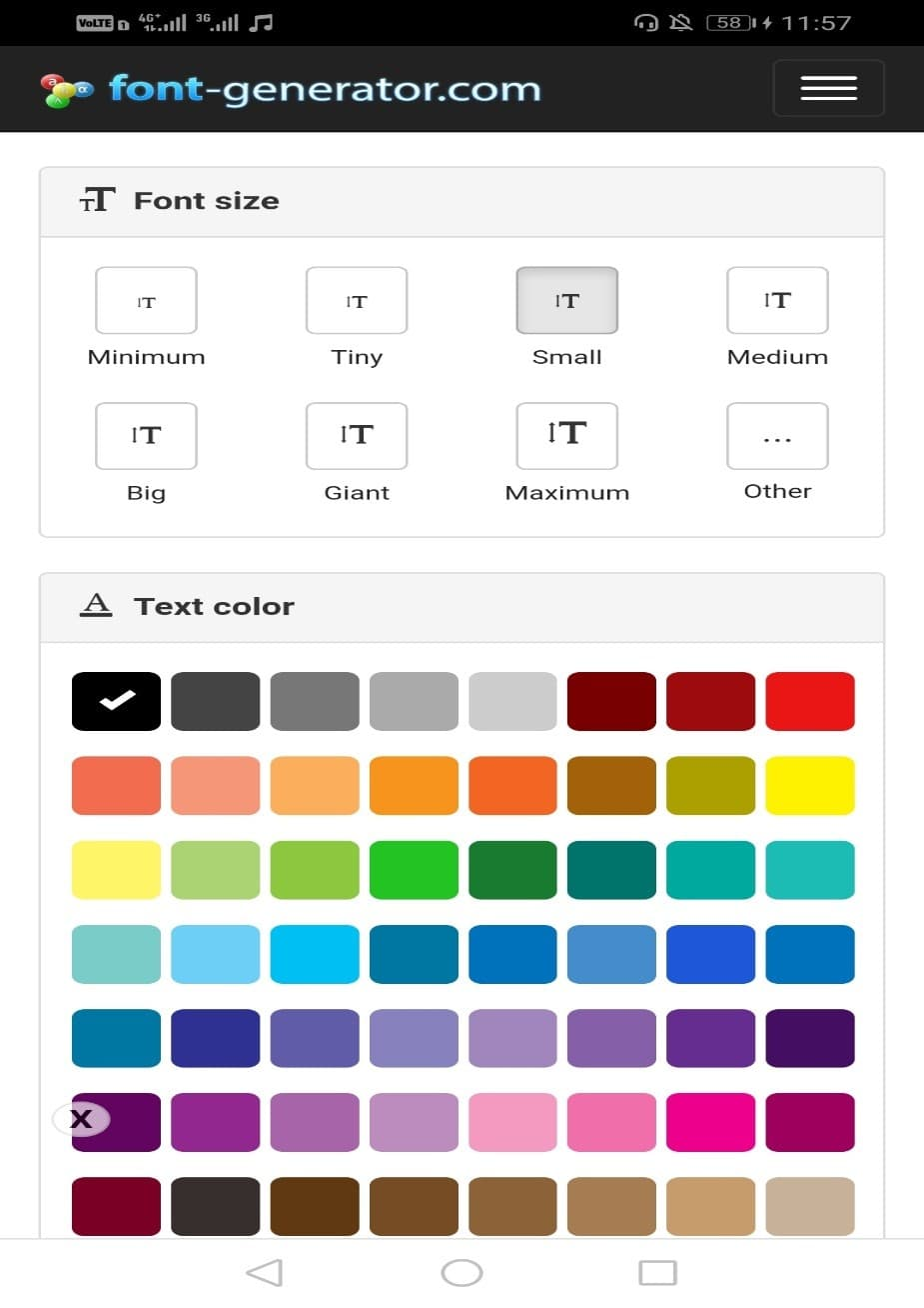 سایت font-generator.com