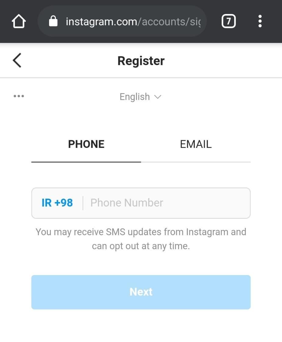 ورود به نسخه وب اینستاگرام