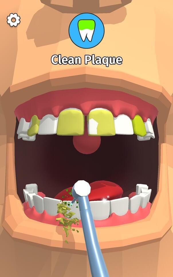 بازی دندانپزشک حرفه ای