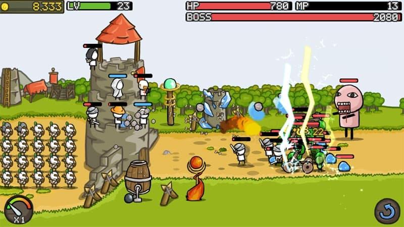 بازی دفاع از قلعه اندروید