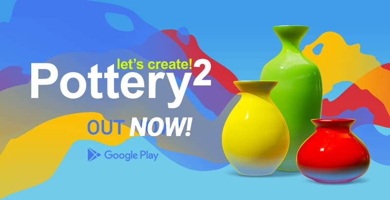 2 Let's Create! Pottery