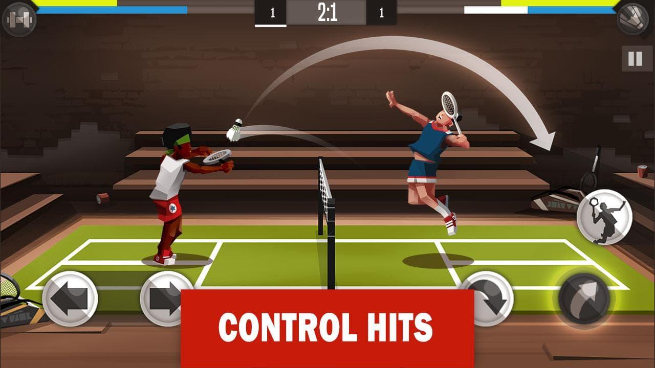 بازی بدمینتون Badminton League