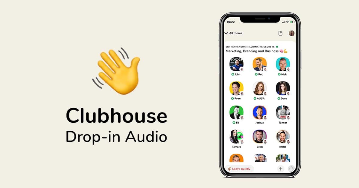 اپلیکیشن Clubhouse کلاب هاوس اندروید