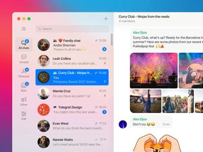 دسته بندی تلگرام