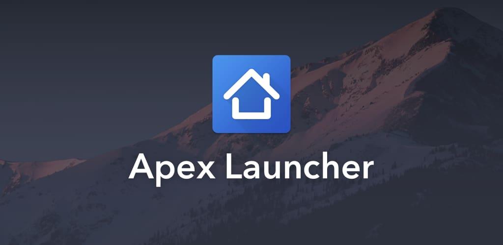 لانچر برتر شماره ده : Apex Launcher