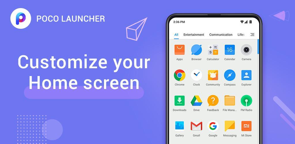 لانچر برتر شماره شش : Poco Launcher 2.0