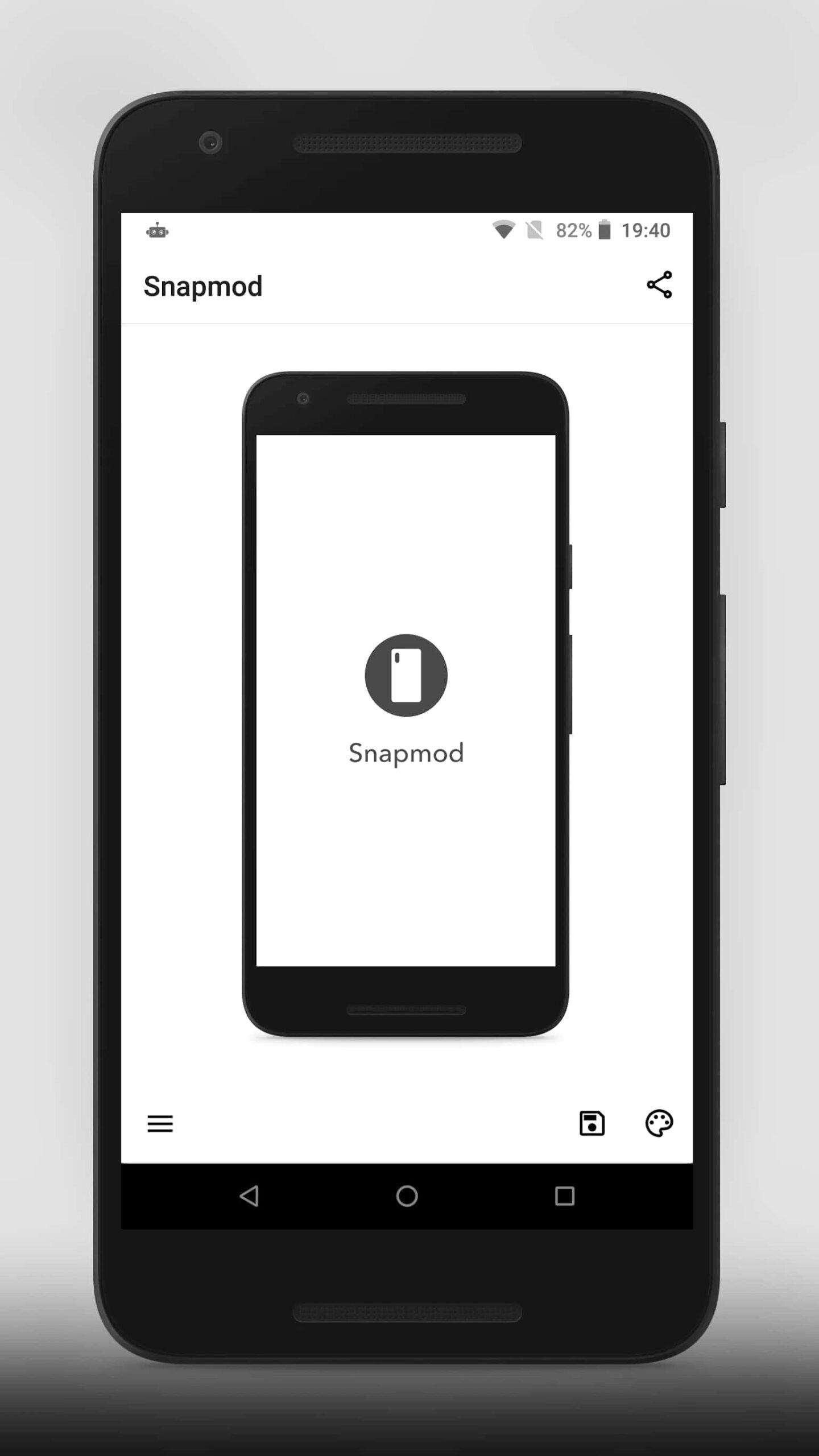 Snapmod – Better screenshots mockup generator