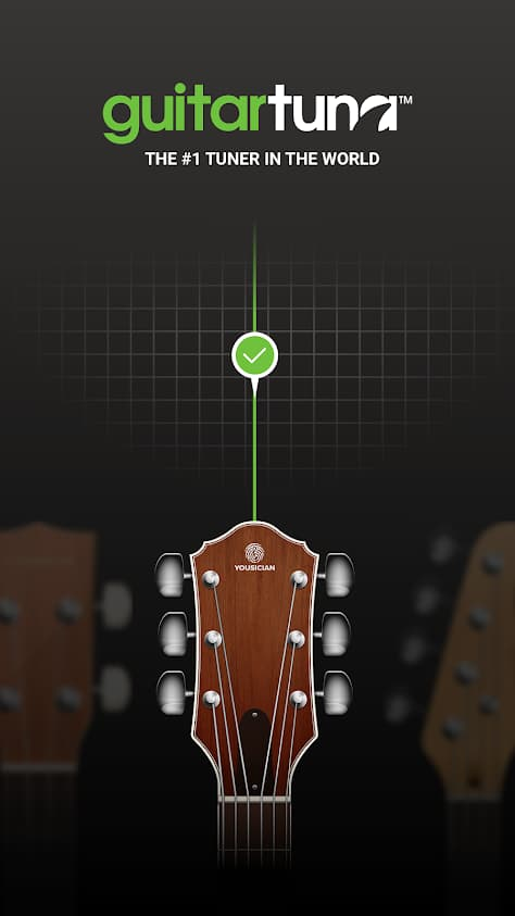 آموزش گیتار GuitarTuna