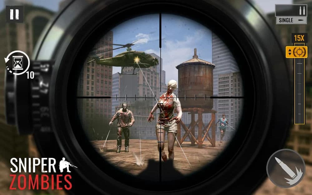 Sniper Zombies: Offline Game