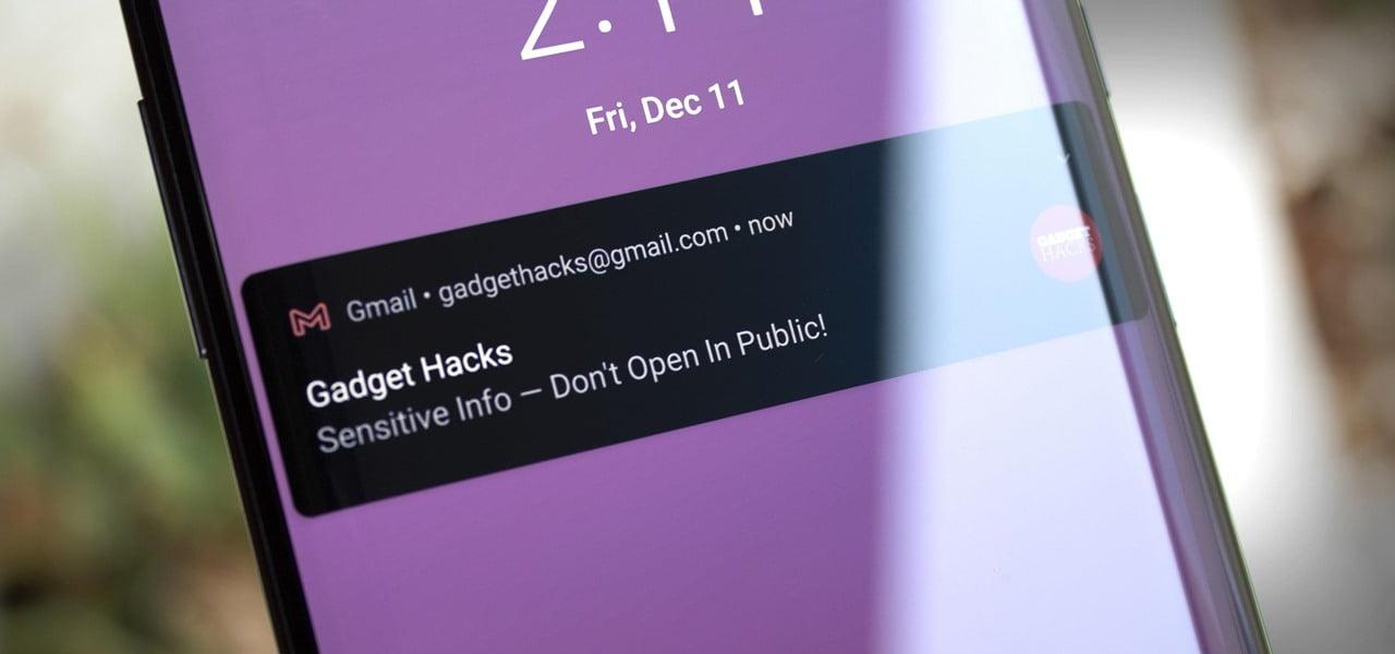 اعلان های مخفی شده در اندروید