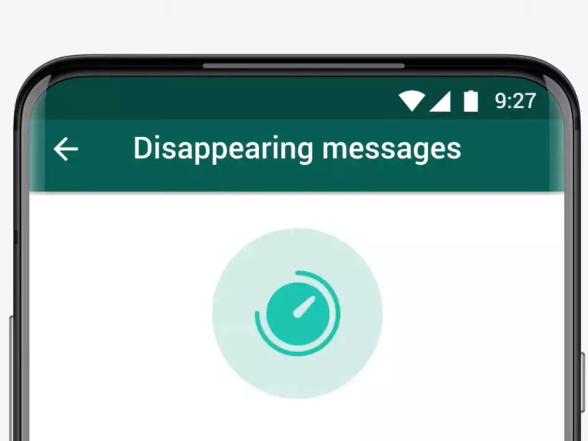 WhatsApp Disappearing پیام زماندار