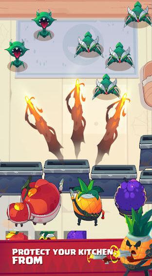 Fruit War: Idle Defense Game