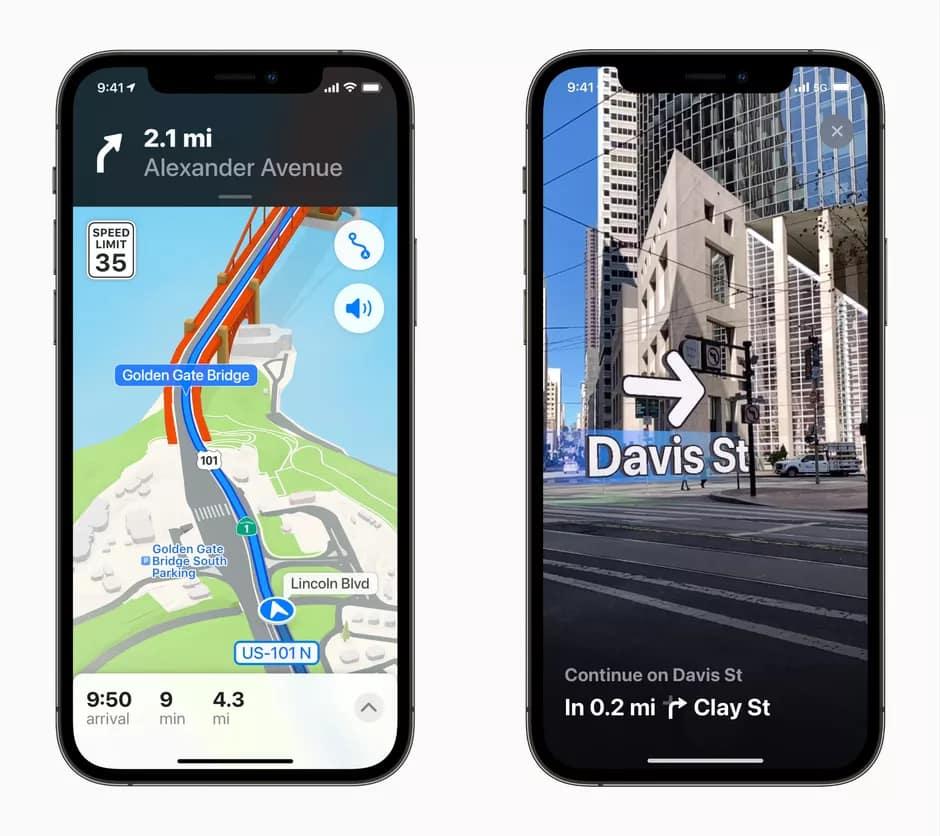 بهروزرسانی نقشه GPS و Map IOS 15